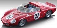 FERRARI DINO 268SP SPIDER Nr27 24h LE MANS 1962 G.BAGHETTI - L.SCARFIOTTI