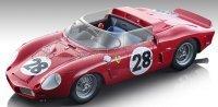 FERRARI DINO 268SP SPIDER Nr28 24h LE MANS 1962 P.RODRIGUEZ - R.RODRIGUEZ