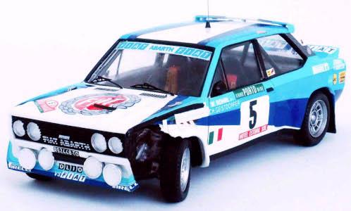 Fiat 131 Abarth, No.5, Rallye WM, Rally Portugal,