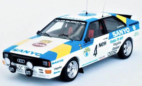 Audi quattro, No.4, Sanyo, Rallye WM, Rallye Schwe