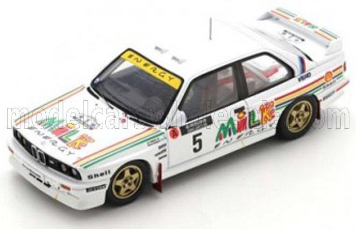 BMW M3 E30 N°5 RALLYE 1000 LAKES FINLAND 1988 ARI