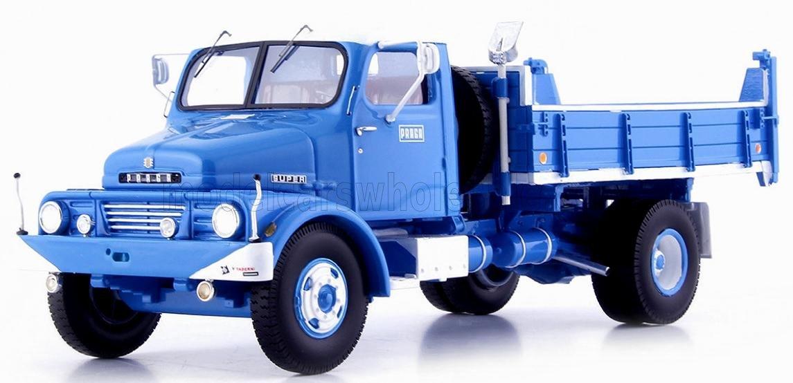 PRAGA S5T TRUCK S3 TUNING DESIGN 1969 - Blauw