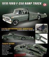 Ford F-350 1970 Ramp Truck, highland vert