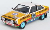 FORD ESCORT MKII (night version) Nr10 2nd RALLY RAC LOMBARD 1979 R.BROOKES - P.WHITE