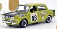 Simca 1000 Rallye 2 SRT N°58 1973 - Acide vert