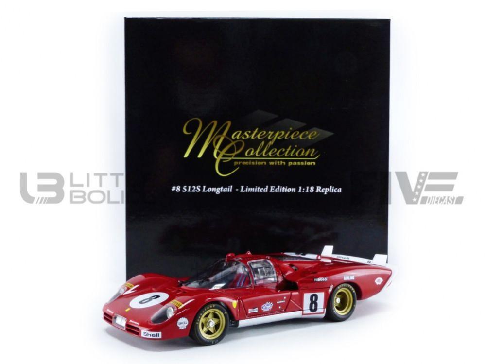 Ferrari 512M Sunoco  3rd Place 24h of LeMans 1971