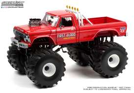 Ford F-250 1978 Monster Truck with 66-Inch Tires *