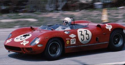 FERRARI 275P N°33 SEBRING 12u 1965UMBERTO MAGLI