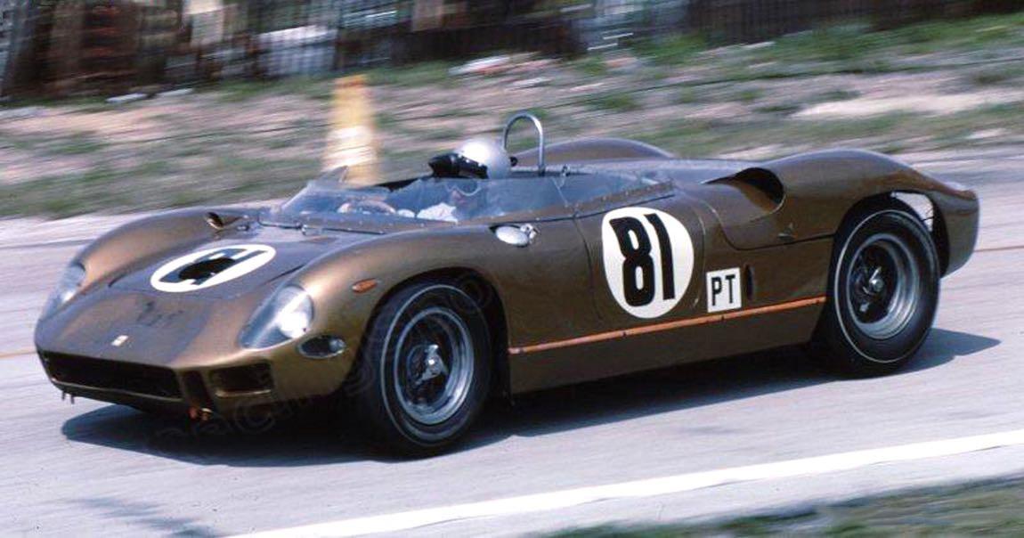 FERRARI 275P N°81 SEBRING 12u 1965 WILLY MAIRESSE