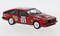 Alfa Romeo GTV6, No.15, Tour de Corse, B.Balas/E.Laine, 1986