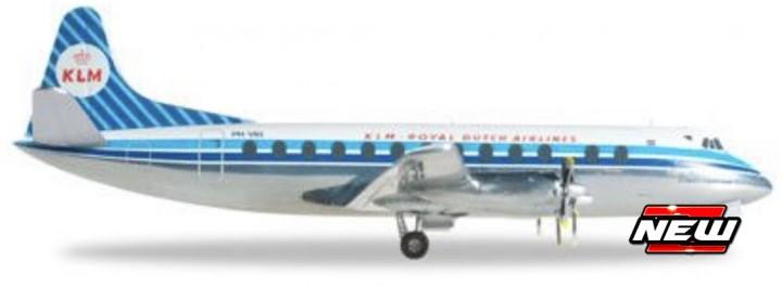 Vickers Viscount 800 KLM - Royal Dutch Airlines (N