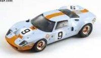 FORD GT40 WINNER LE MANS 1968 P. RODRIGUEZ L. BIANCHI