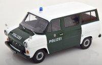 FORD TRANSIT MKI MINIBUS HAMBURG POLIZEI 1965 - Wit , groen