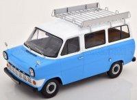 FORD TRANSIT MKI MINIBUS 1965 - Blauw  ,wit