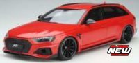 AUDI RS4-S ABT , rood