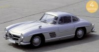 Mercedes-Benz 300 SL 1954 , Zilver