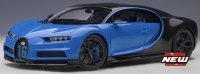 Bugatti CHIRON SPORT 2019 , Blauw , carbon