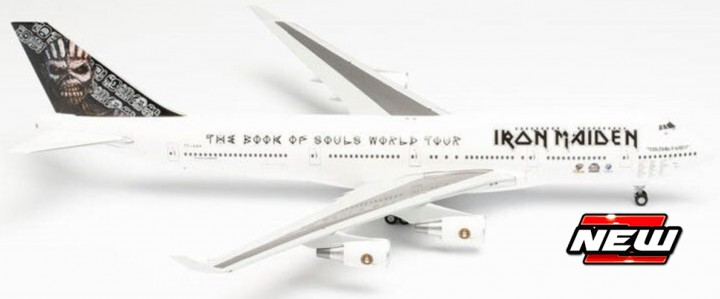 Boeing 747-400 Iron Maiden Ed Force One Book o Sou