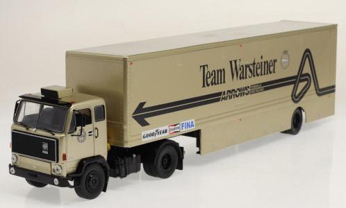 Volvo F89, Team Warsteiner Arrows, Race Transport