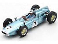 COOPER - F1 T53 N 7 EENZAAMHEID DUITS GP 1961 B.McLAREN - licht blauw