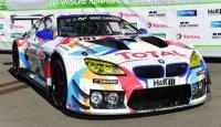 BMW  6 SERIE M6 GT3  / TEAM WALKENHORST MOTORSPORT N 101 24h NURBURGRING 2021 C.KROGNES - D.PITTARD - B.TUCK , BLANC ROUGE BLEU