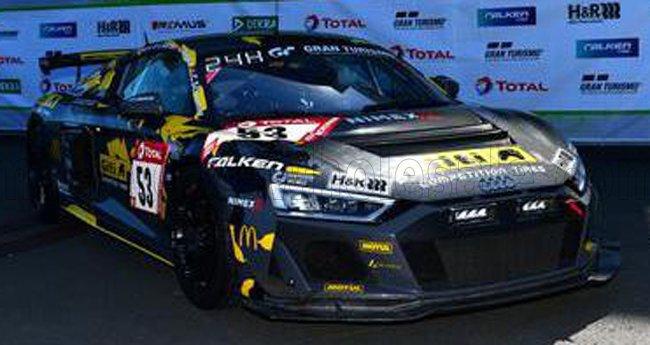 AUDI - R8 LMS GT4 TEAM WS RACING N 53 WINNAAR SP8