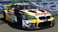 BMW - 6-SERIE M6 GT3  / TEAM ROWE RACING N 1 POLE POSITIE 24h NURBURGRING 2021 N.CATSBURG - J.EDWARDS - P.ENG - N.YELLOLY , BLANC / JAUNE / NOIR