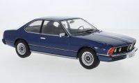 BMW 6 (E24), donker blauw, 1976