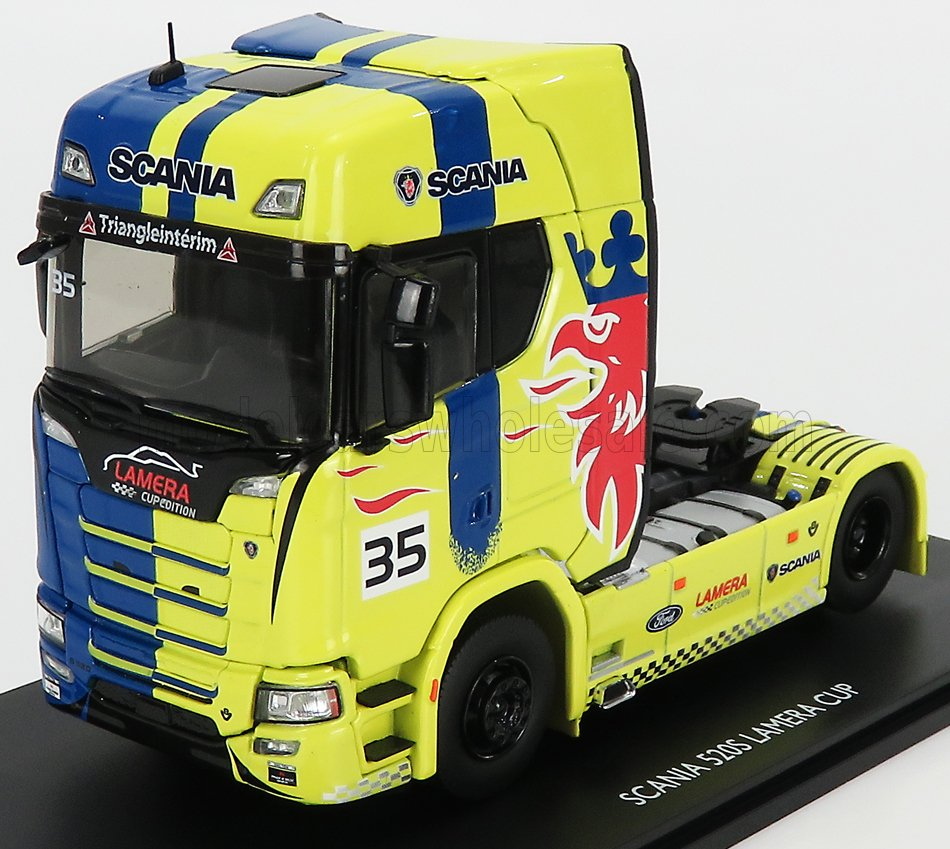 SCANIA - 520S V8 TRACTOR TRUCK N 35 LAMERA CUP 201