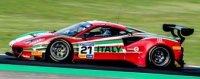 Ferrari 488 GT3 No.21 - Team Italy - FIA Motorsport Games GT Cup Vallelunga 2019 - G. Roda Sr. - G. Roda Jnr