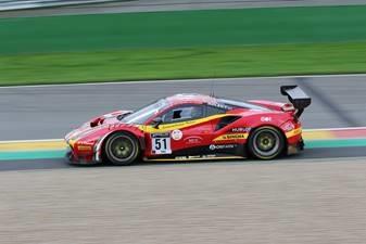 Ferrari 488 GT3 Evo No.51 AF Corse - 5th 24H Spa 2