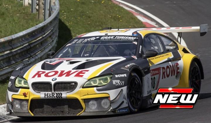 BMW M6 GT3 No.98 ROWE RACING 2nd 24H Nürburgring