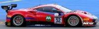 LOOK SMART Ferrari 488 GT3 #52 MACHIELS/WARTIQUE/BERTOLINI/ROVERA 2nd PRO-AM CLASS 24H SPA 2021