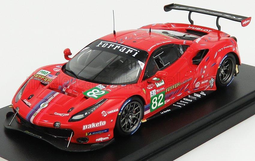 Ferrari 488 GTE EVO No.82 Risi Competizione 24H Le