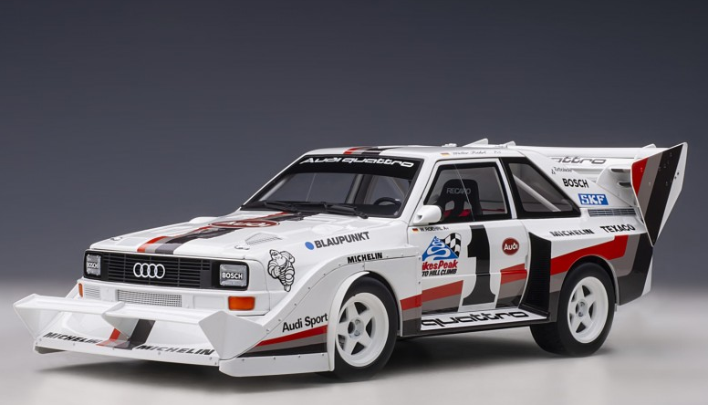 Audi Sport Quattro S1 #1 Walter Roehrl Winner Pike