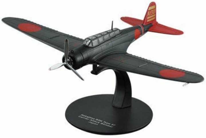 Nakajima B5N TYPE 97 CARRIER ATTACK BOMBER JAPAN