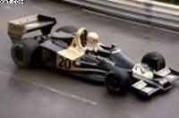 WOLF WR1 N°20 WINNER GP MONACO 1977 JODY SCHECKTER