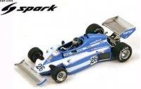 LIGIER JS7 N°26 WINNER GP SWEDEN 1977 JACQUES LAFFITE