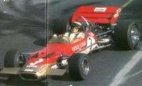 LOTUS 49C N°3 WINNER GP MONACO 1970 JOCHEN RINDT