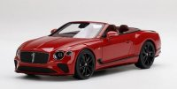 BENTLEY CONTINENTAL GT CONVERTIBLE MULLINER NUMBER 1 EDITION rood