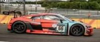 AUDI R8 LMS GT3 NO.66 AUDI SPORT TEAM ATTEMPTO RACING 9TH 24H SPA 2021 DRUDI-MARSCHALL-MIES LTD 300