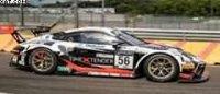 PORSCHE 911 GT3 R NO.56 DINAMIC MOTORSPORT 24H SPA 2021 DUMAS-RIZZOLI-PEDERSEN LTD300