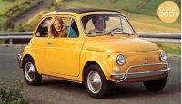 Fiat 500 L 1969 - Positano Geel , 0 openingen