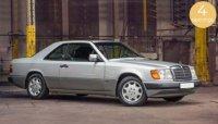 Mercedes-Benz 300 CE-24 Coupé 1990 - zilver  , 4 openingen