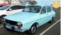 Renault 12 TS 1974 - Licht Blauw , 3 openingen
