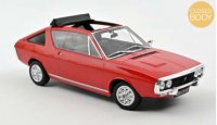 Renault 17 Gordini Découvrable 1975 - Rood , 0 openingen