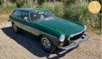 Volvo 1800 ES 1973 - Cypres Groen ,  1 opening
