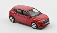 Dacia Sandero 2021 - Fusion Rood , 0 openingen