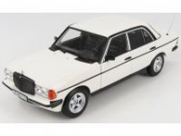 MERCEDES E-CLASS 200E (W123) 1984 - WITH AMG FRONT SPOILER AND RIMS - WIT