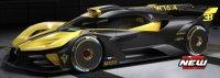 Bugatti BOLIDE , jaune  , noir